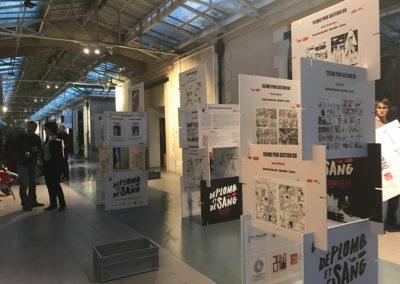 Expo De plomb et de sang Festival du 9e art